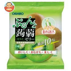 オリヒロ ぷるんと蒟蒻ゼリー キウイ 20gパウチ×6個×24袋入