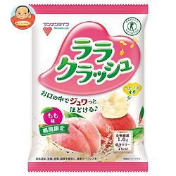 マンナンライフ 蒟蒻畑 ララクラッシュ もも味【特定保健用食品 特保】 24g×8個×12袋入
