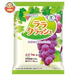 マンナンライフ 蒟蒻畑 ララクラッシュ ぶどう味【特定保健用食品 特保】 24g×8個×12袋入