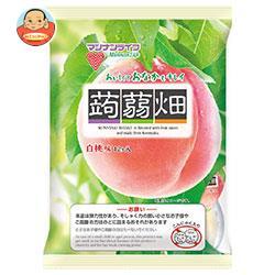 マンナンライフ 蒟蒻畑 白桃味 25g×12個×12袋入