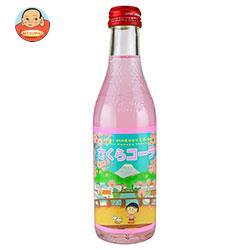 木村飲料 ちびまる子ちゃん さくらコーラ 240ml瓶×20本入