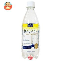 木村飲料 カクテス おいしいゼロ トニックウォーター 500mlペットボトル×24本入