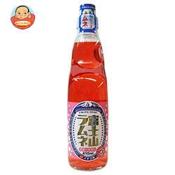 木村飲料 富士山ラムネ イチゴ味 410ml瓶×15本入