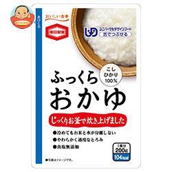 亀田製菓 ふっくらおかゆ 200gパウチ×24(6×4)袋入