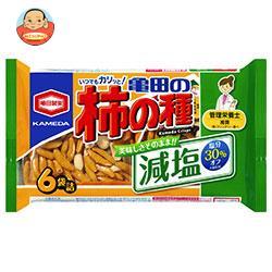 亀田製菓 減塩亀田の柿の種 6袋詰 182g×12袋入