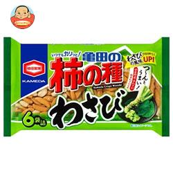 亀田製菓 亀田の柿の種 わさび 6袋詰 182g袋×12袋入