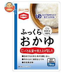 亀田製菓 ふっくらおかゆ 150gパウチ×36(6×6)袋入