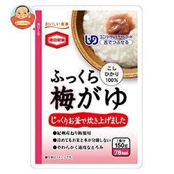 亀田製菓 ふっくら梅がゆ 150gパウチ×36(6×6)袋入