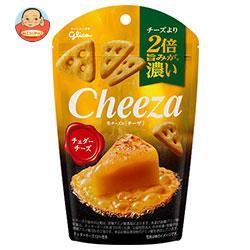 グリコ 生チーズのチーザ チェダーチーズ 40g×10袋入