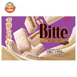 グリコ ビッテ ラム&レーズン 6枚×7箱入