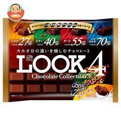 不二家 LOOK4(ルック4) チョコレートコレクション ファミリーパック 185g×12袋入