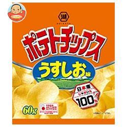 コイケヤ ポテトチップス うすしお味 60g×12個入