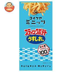コイケヤ コイケヤミニッツ スティックポテト うすしお味 40g×12(6×2)袋入