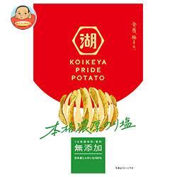 コイケヤ KOIKEYA PRIDE POTATO(コイケヤプライドポテト) 濃厚のり塩 63g×12個入