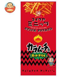コイケヤ コイケヤミニッツ スティックカラムーチョ ホットチリ味 40g×12(6×2)袋入