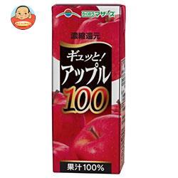 らくのうマザーズ アップル100 200ml紙パック×24本入