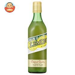 ジーエスフード GS 100%レモン 500ml瓶×12本入