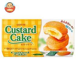 ロッテ カスタードケーキ 6個×5箱入