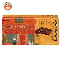 ロッテ シャルロッテ 生チョコレート 12枚×6箱入