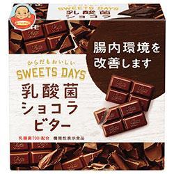 ロッテ 乳酸菌ショコラ ビター【機能性表示食品】 56g×6箱入