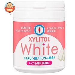 ロッテ キシリトールホワイト グレイスグレフル ファミリーボトル 143g×6個入