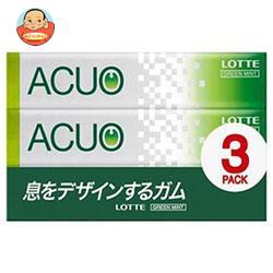 ロッテ ACUO(アクオ) グリーンミント 3P×10個入