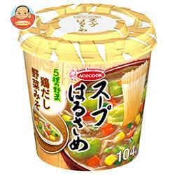 エースコック スープはるさめ 鶏だし野菜みそ 33g×12(6×2)個入