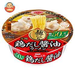 エースコック 麺ごこち 糖質50%オフ 芳醇鶏だし醤油ラーメン 84g×12個入