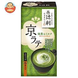 片岡物産(株) 辻利 京ラテ 抹茶&ミルク 14.0g×5本×30(6×5)箱入