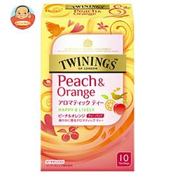片岡物産 トワイニング ピーチ&オレンジ 1.8g×10袋×48(6×8)個入