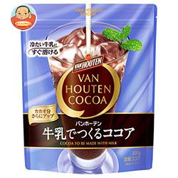 片岡物産 バンホーテン 牛乳でつくるココア 200g×12袋入