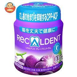 モンデリーズ・ジャパン リカルデント ボトルRグレープミントガム(粒ガム) 140g×6個入