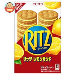 モンデリーズ・ジャパン RITZ(リッツ) レモンサンド 9枚×2P×10箱入