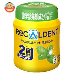 モンデリーズ・ジャパン 大人のリカルデント 清涼ミントボトルR(粒ガム) 140g×6個入
