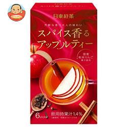 三井農林 日東紅茶 スパイス香るアップルティー 9.6g×6本×24箱入