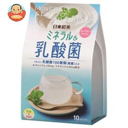 三井農林 日東紅茶 ミネラル&乳酸菌 12.5g×10本×24個入