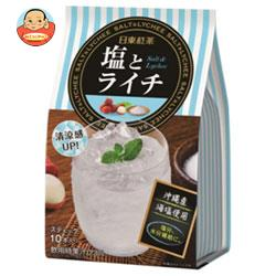 三井農林 日東紅茶 塩とライチ 9.9g×10本×24個入