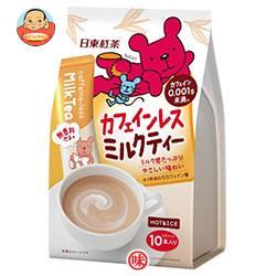 三井農林 日東紅茶 カフェインレスミルクティー 14g×10本×24個入