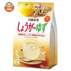 三井農林 日東紅茶 しょうが&ゆず 10g×10本×24個入
