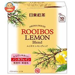 三井農林 日東紅茶 アロマハウス ルイボス レモン 1.5g×10袋×36個入