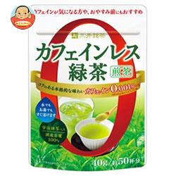 三井農林 三井銘茶 カフェインレス緑茶 煎茶 40g×24袋入