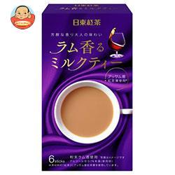 三井農林 日東紅茶 ラム香るミルクティー 12g×6本×24箱入