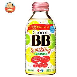 エーザイ チョコラBB スパークリング  キウイ&レモン味 140ml瓶×24本入