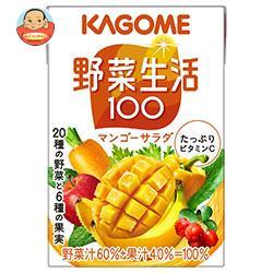 カゴメ 野菜生活100 フルーティーサラダ 100ml紙パック×36本入