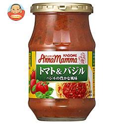 カゴメ アンナマンマ トマト&バジル 330g瓶×12本入
