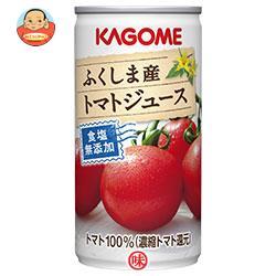カゴメ ふくしま産トマトジュース 食塩無添加 190g缶×30(6×5)本入