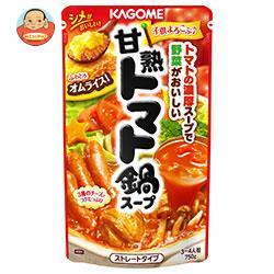 カゴメ 甘熟トマト鍋スープ 750g×12袋入