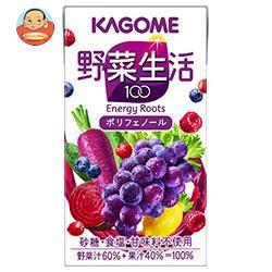 カゴメ 野菜生活100 エナジールーツ 125ml紙パック×24本入