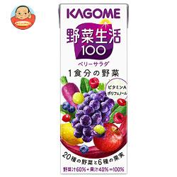 カゴメ 野菜生活100 エナジールーツ 200ml紙パック×24本入