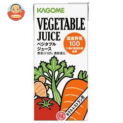 カゴメ ベジタブルジュース 国産野菜100(ホテルレストラン用) 1L紙パック×12(6×2)本入